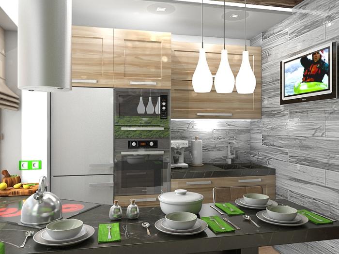 Советы дизайнеров, как организовать пространство маленькой кухни