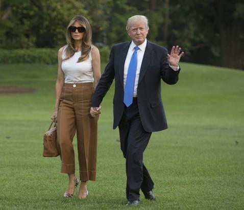 Мелания Трамп переехала в Белый Дом с самой простой из своих сумок Birkin