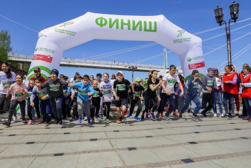 В Зеленом марафоне