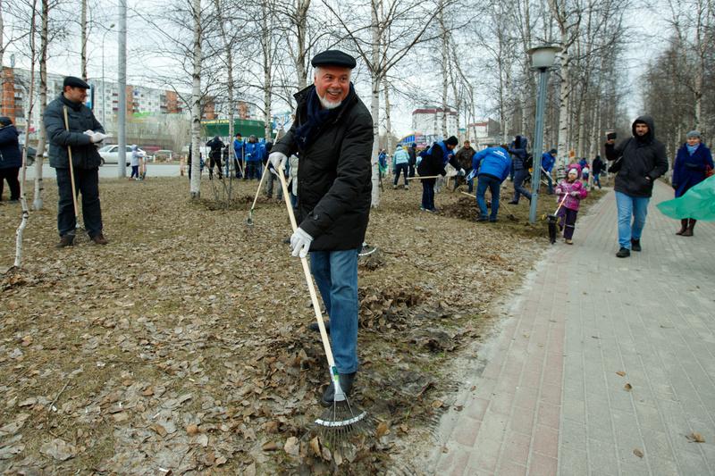 В Сургуте стартовала акция «Чистый город»
