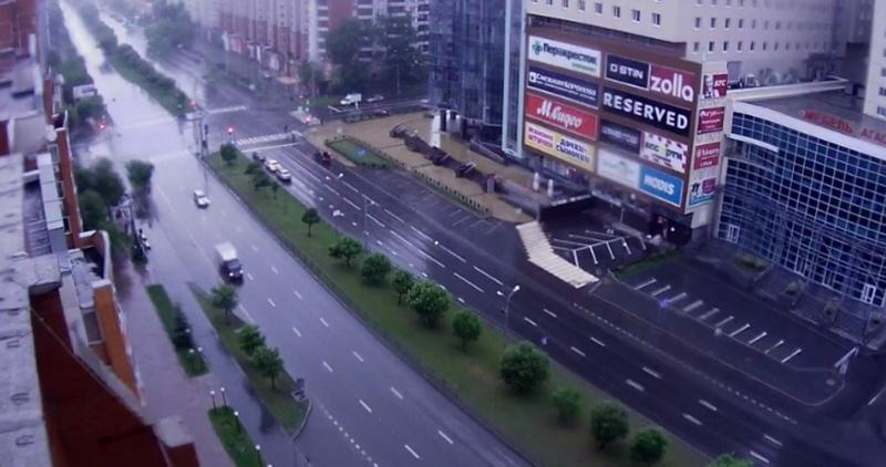 Погода в Тюмени 22 июня: дождь с грозой, +20