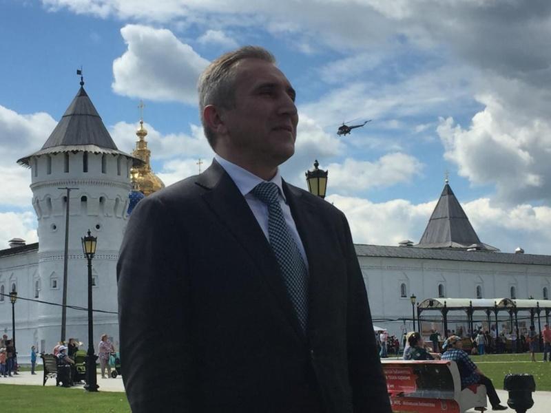 Александр Моор открыл День города Тобольска