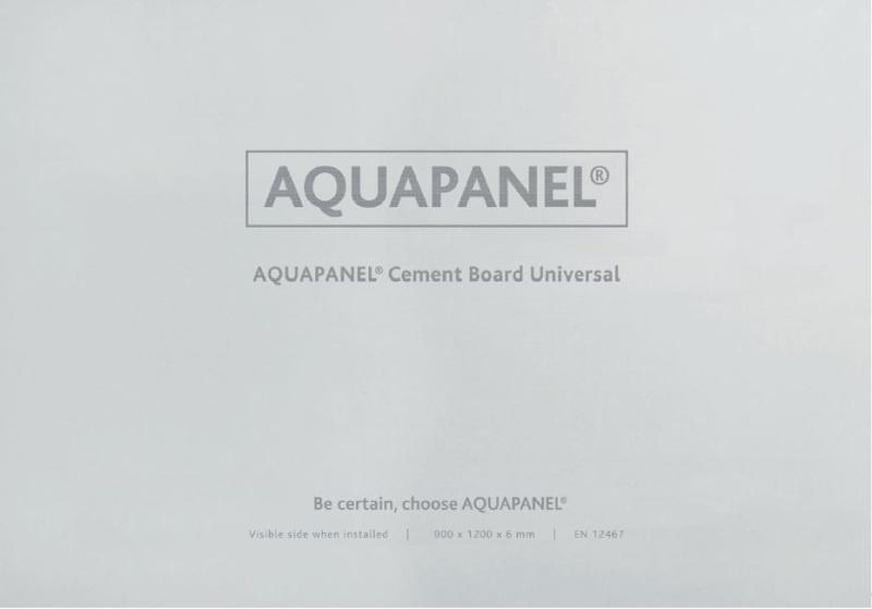 АКВАПАНЕЛЬ® Универсальная – 100% влагостойкая основа под отделку