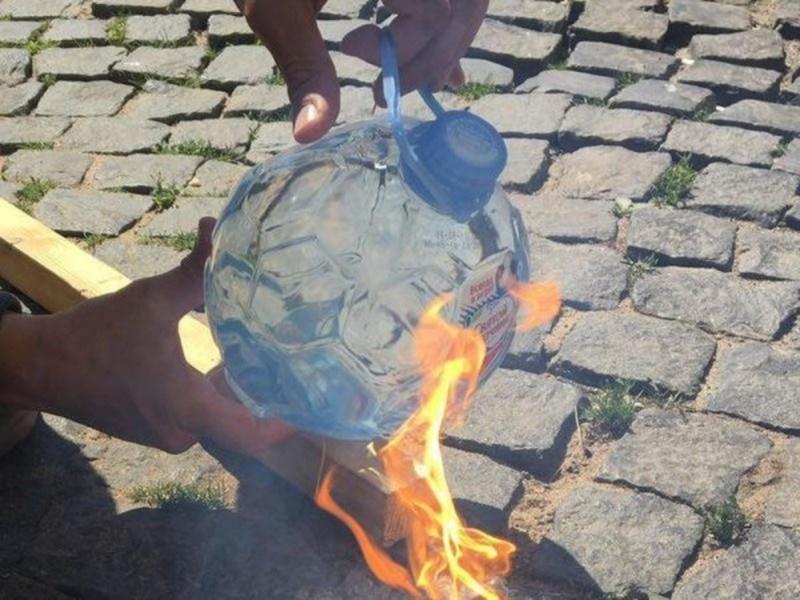 В тюменских магазинах прекращают продажу пожароопасных бутылок