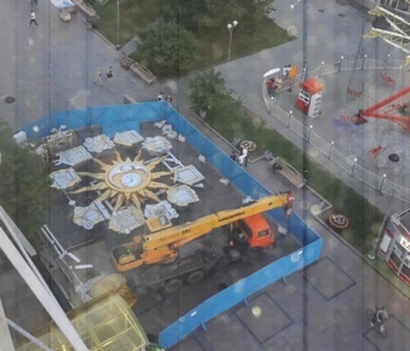 В центре Тюмени преобразится колесо обозрения