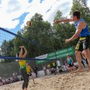 Сбербанк провел mixed-турнир по парковому волейболу в Тюмени