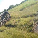 В Тюменской области на трассе погибла пассажирка перевернувшегося автомобиля