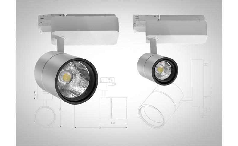 Трековые системы освещения, как выигрышный элемент интерьера у дизайнеров