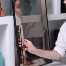 Снятие амальгамы с зеркал