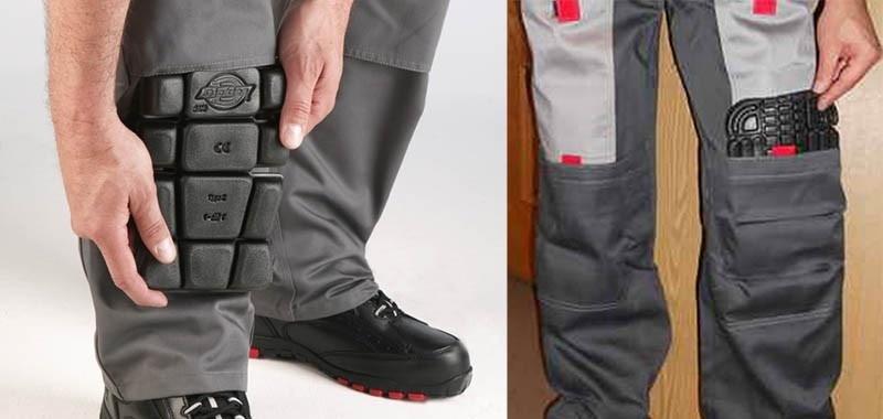 Наколенники. Защита коленей при проведении строительных работ