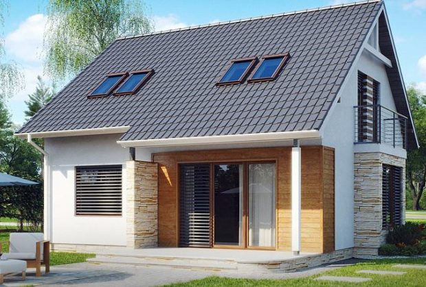 ТОП 11 проектов домов из газобетона для частного строительства