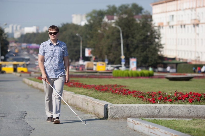 В Тюмень приедет слепой путешественник и расскажет о своих приключениях
