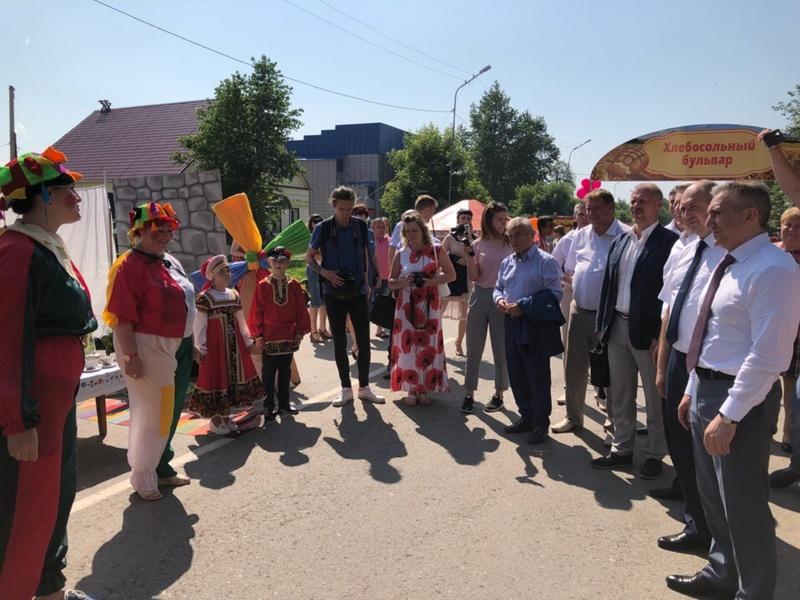 Врио губернатора Тюменской области Александр Моор принял участие в праздновании 95-летия Абатского района