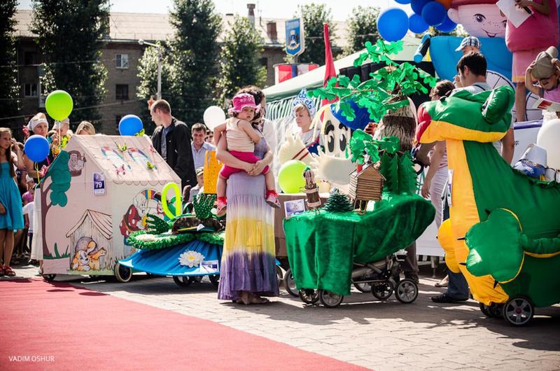 Тюменцы могут модернизировать детские коляски и представить их на традиционном параде