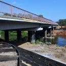 В Тюменской области в кратчайшие сроки возвели мост через реку