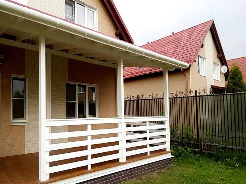 Строительство летней веранды в Колпино СПб