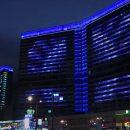 Секреты и типы ночной подсветки зданий