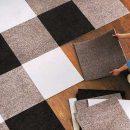Ковровая плитка для дома и офиса