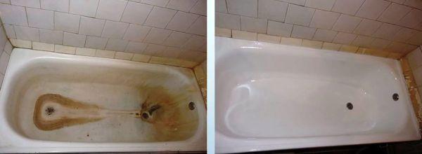 Восстановление ванн из акрила