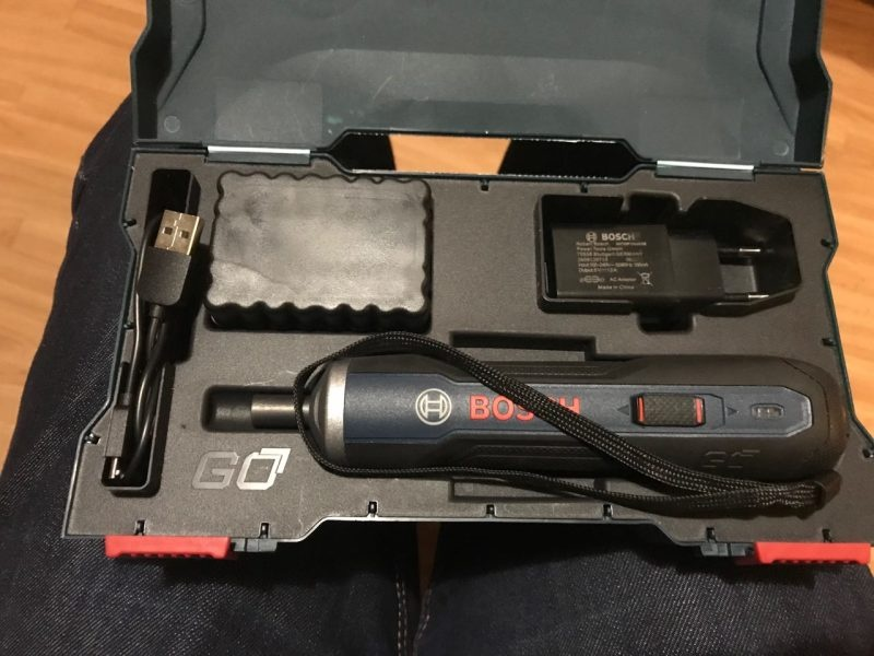 Электроотвертка Bosch GO