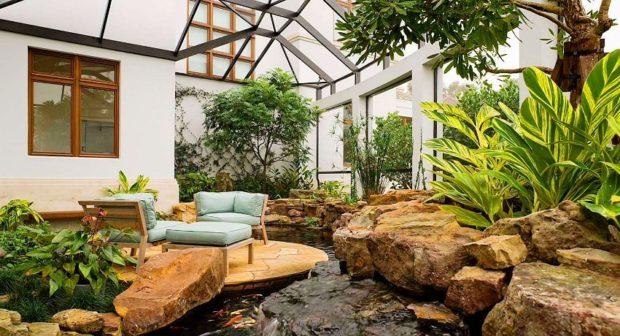Зимний сад в частном доме: 14 советов по обустройству своими руками + фото