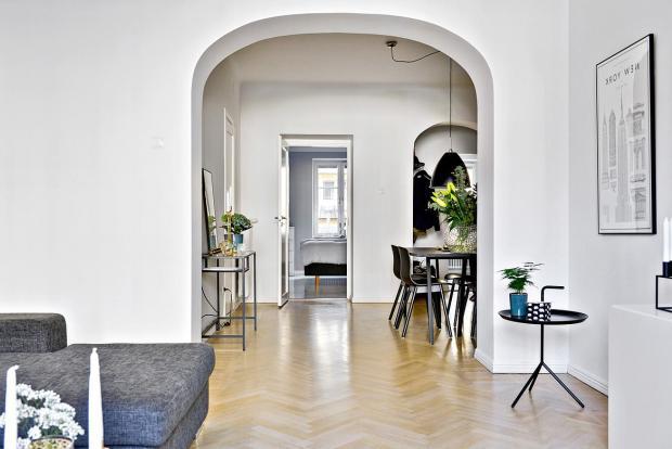 15 советов по оформлению дверного проема без двери + фото