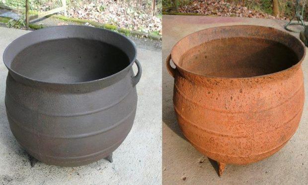 Подготовка металла к окрашиванию — удаление следов коррозии и засорений