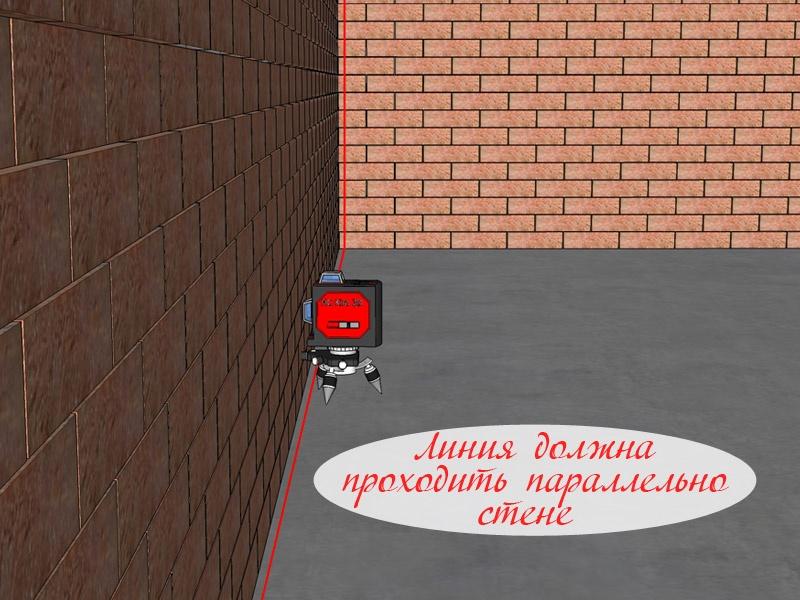 Как использовать лазерный уровень для штукатурки стен? - фото 4
