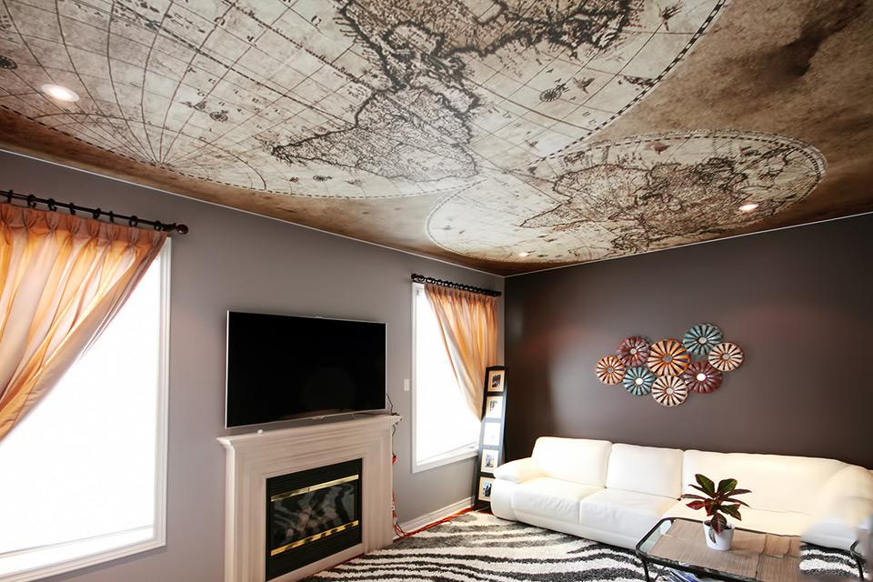 Фотообои на потолок: 5 советов по выбору и поклейке