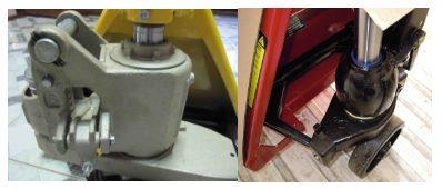 4 совета по выбору складской тележки: гидравлические и электрические тележки