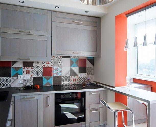 Кухня, совмещенная с балконом: 6 советов по дизайну
