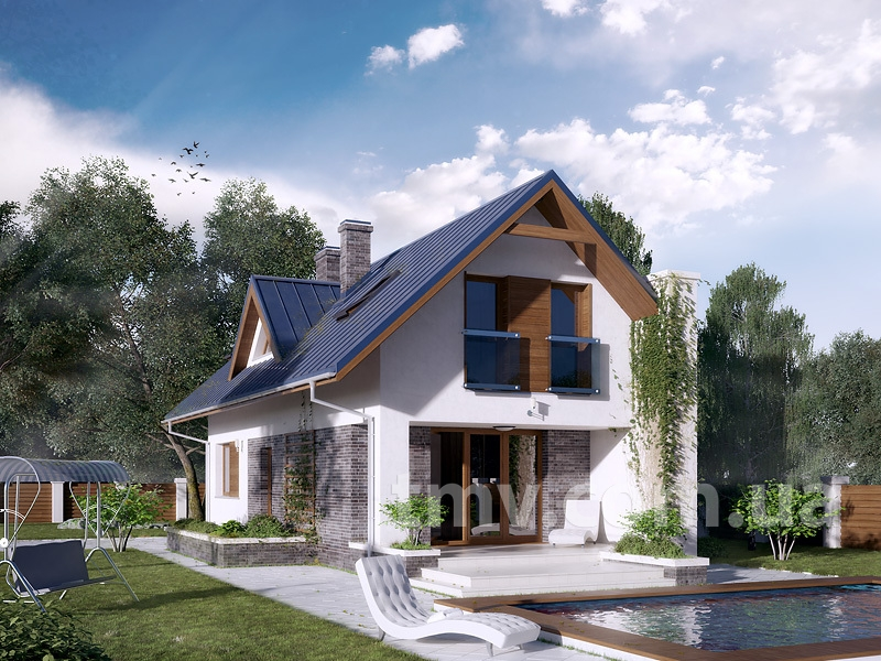 ТОП 10: лучшие проекты домов до 100 кв.м + фото