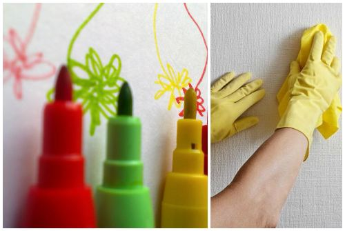 31 способ, как очистить обои от ручки, пятен, грязи