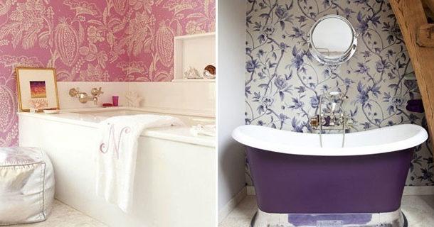 6 советов по выбору обоев для ванной комнаты